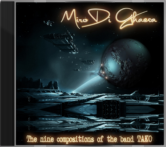 The nine compositions of the band TAKO cover art